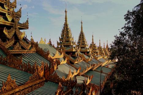 ShwedagonBuddhist Pagoda Myanmar