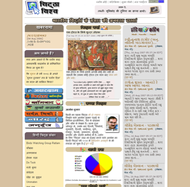An aggregation of Hindi blogs
