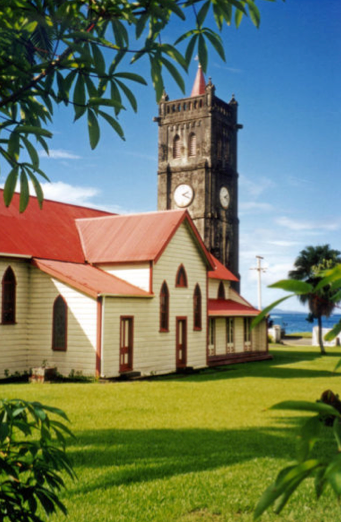 Sacred Heart Church at Levuka, Fiji