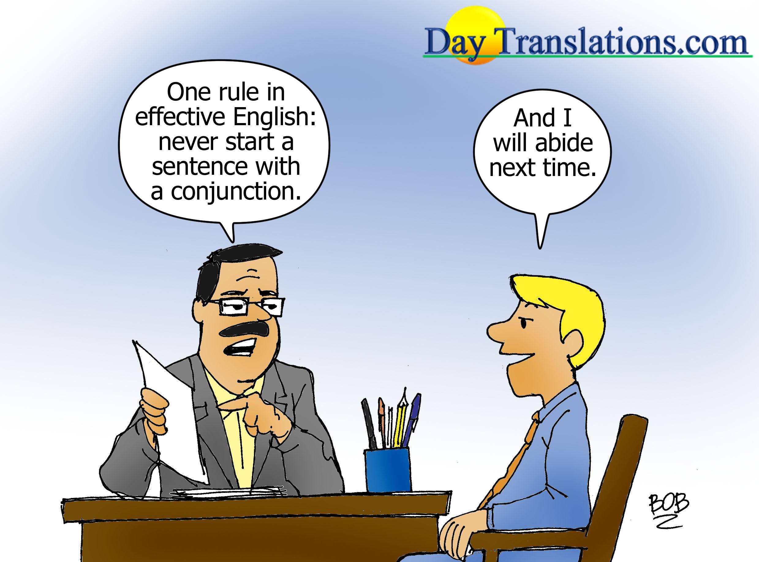 Today's Cartoon – Conjunction