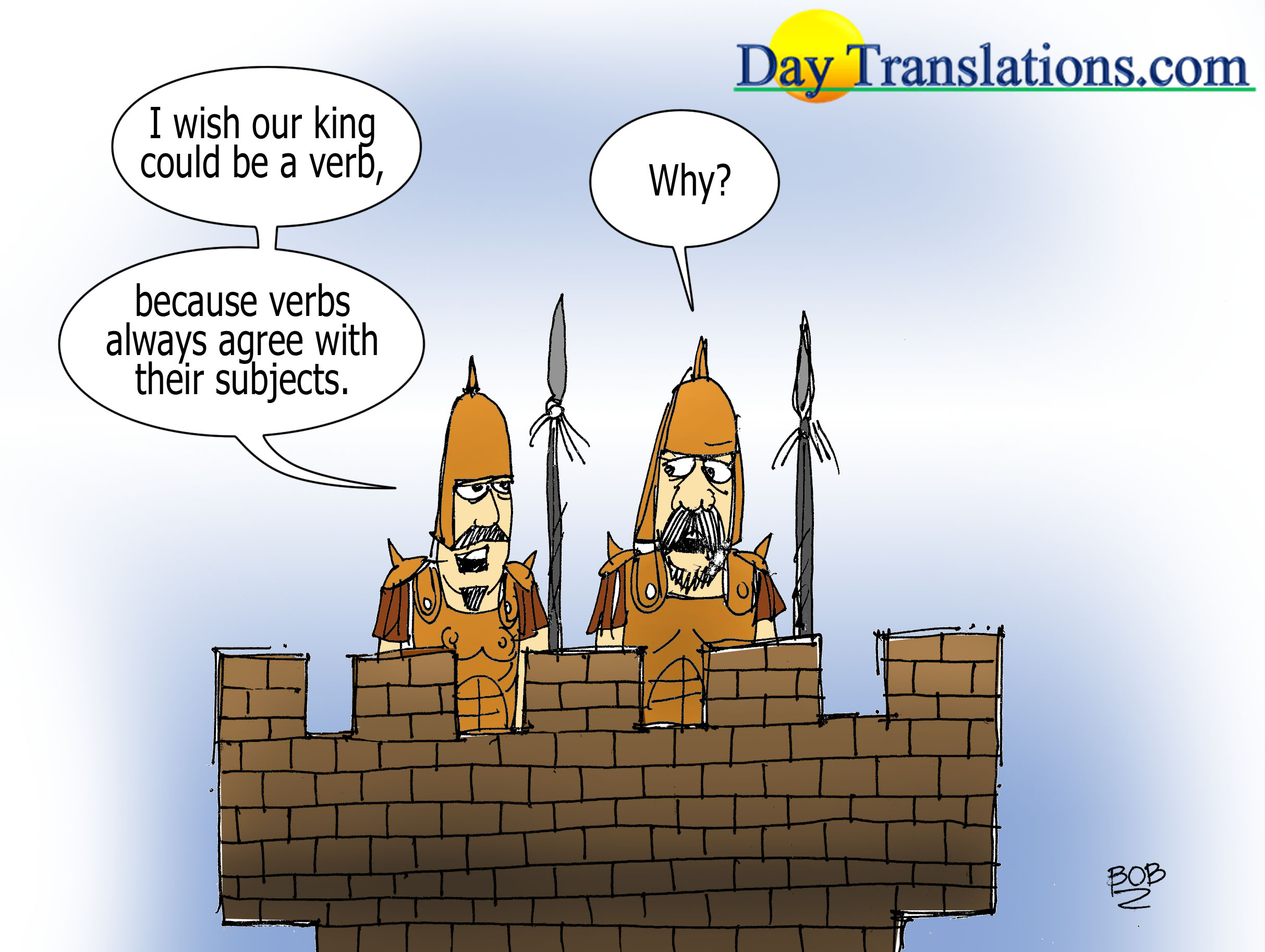 Today's Cartoon – Verb