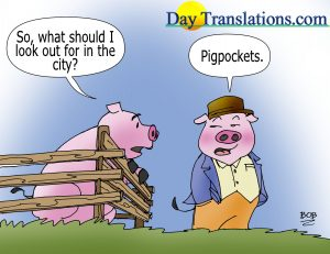 Today's Cartoon - PigPockets