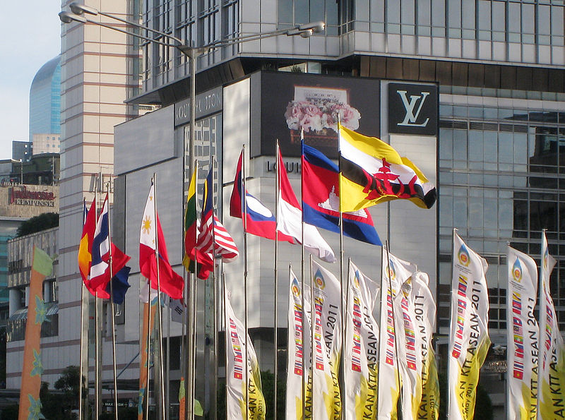 ASEAN Nations Flags