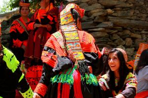 Kalash Woman Headress
