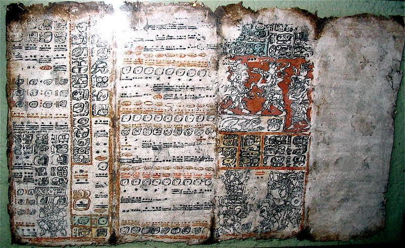 Mexican Maya Codex