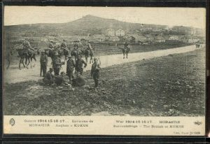 British Soldiers in World War 1 at Kilkis, Greece Day Translations Languages