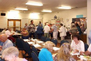 Image credit: Friday Lunch at the PH Senior Center taken by Bill Larkins under Public Domain.