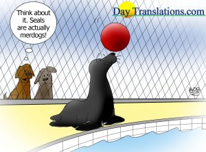 Today's Cartoon - SEAL