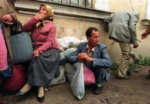 Image credit: Evstafiev-Bosnia-Travnik-Refugees taken by  Mikhail Evstafiev under Public Domain.