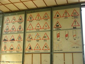 Russian Language Road Signs