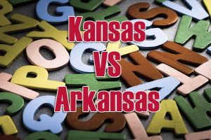 Kansas versus Arkansas