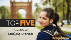 Studying Overseas or abroad