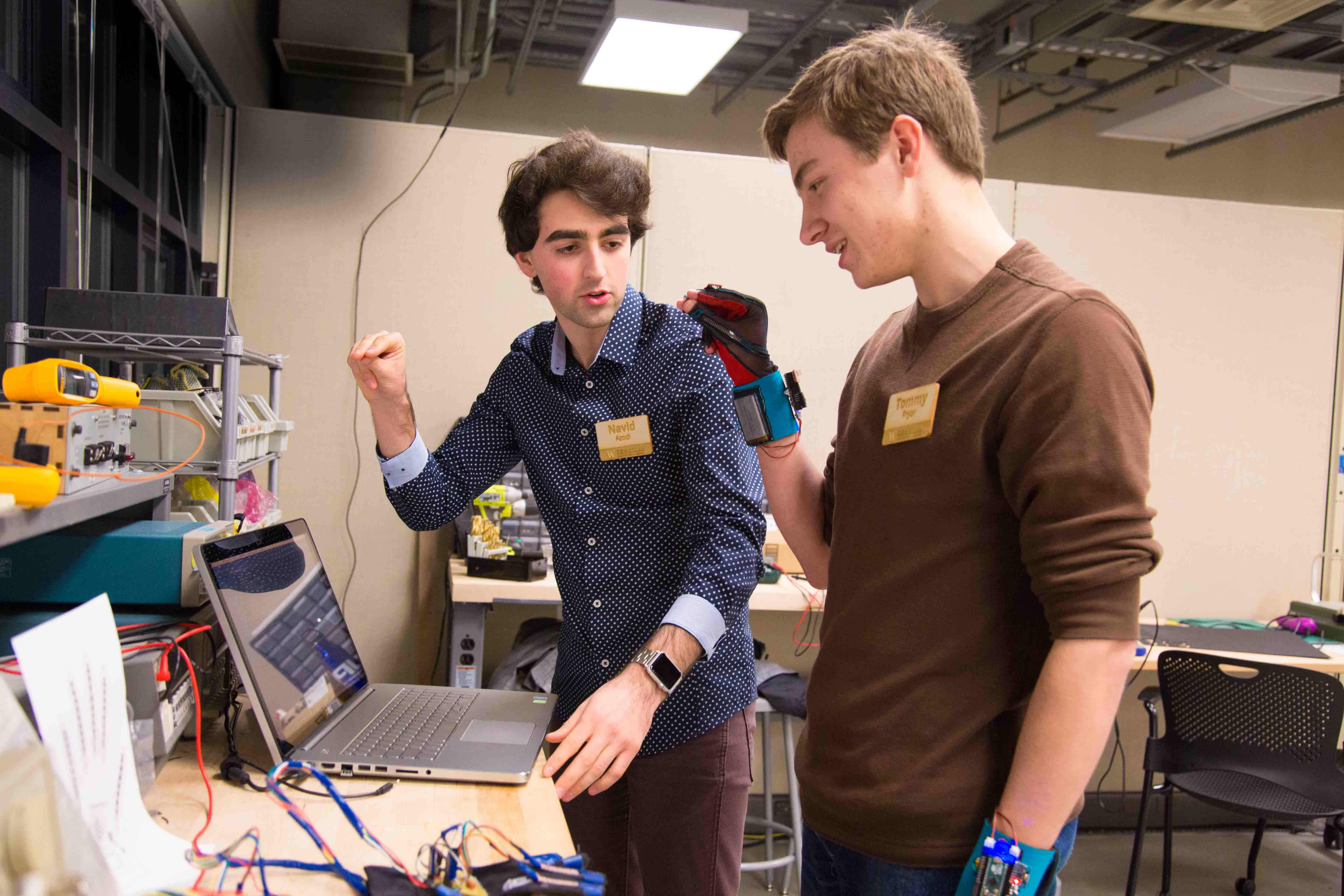 SignAloud-work-in-UW-CoMotion-MakerSpace