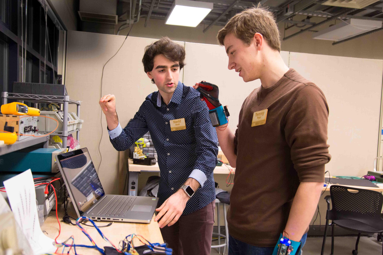 SignAloud-work-in-UW-CoMotion-MakerSpace