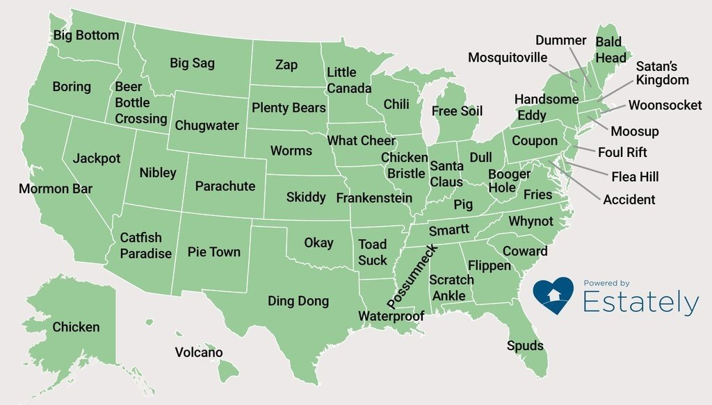 hilarious town names in the united states