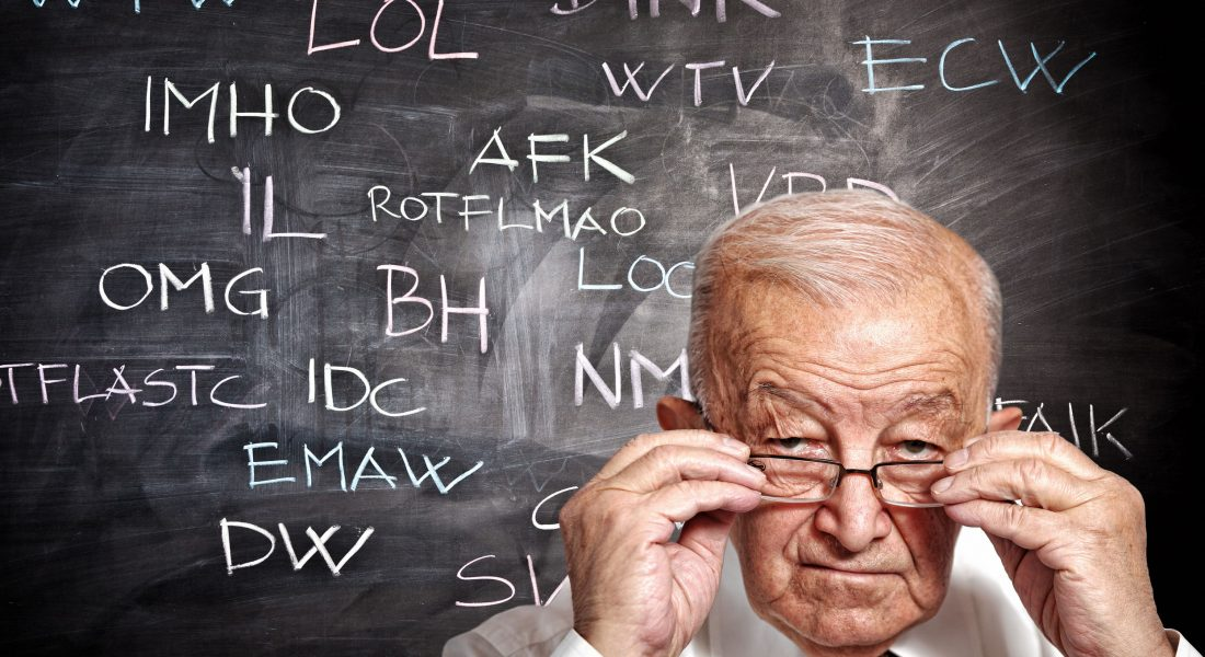 Keeping Up With Internet Slang And Social Media Acronyms