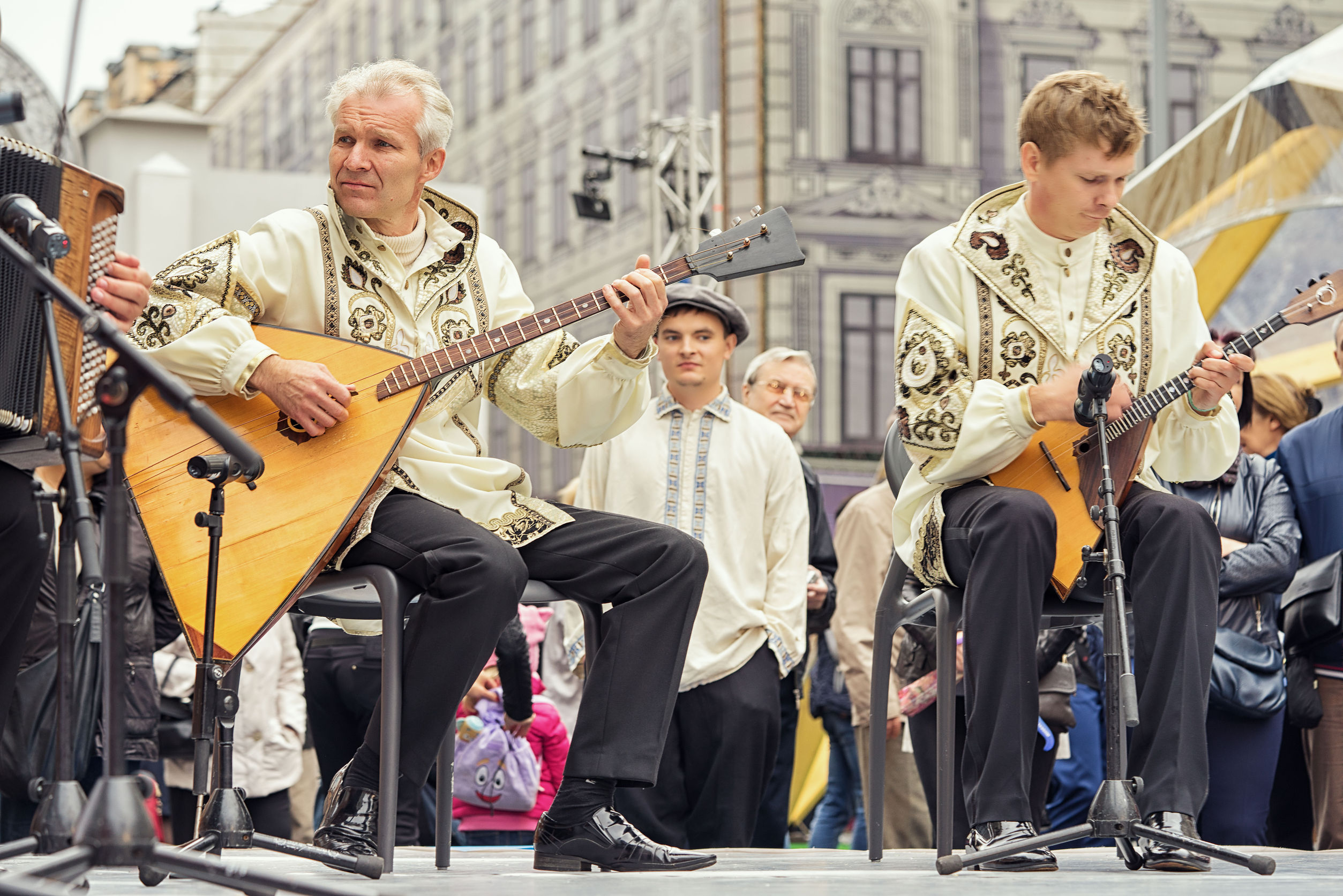 band performance for Moscow City Day celebration