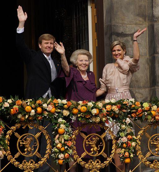 King Willem Alexander, Princess Beatrix and Queen Maxima