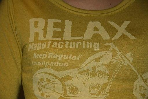 relax diacritics