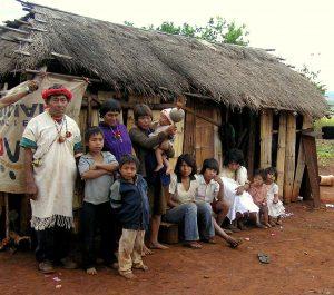 Pai Tavytera Indian Family