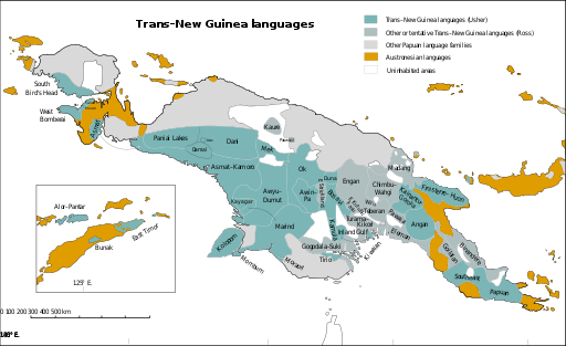 Trans New Guinea languages