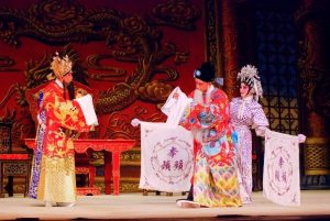 Xusheng in car cantonese opera