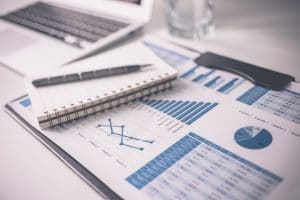 financial report going through financial translations review