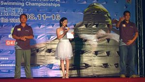 Swimming Competition Host Interpreters