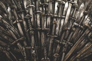 Game of Thrones Finale Rumors about the iron throne
