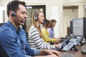 phone interpreters at work