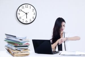 translation turnaround time important for a businesswoman