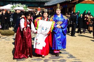 Traditional Wedding of Thananya Park Jin Hyun at Korean Folk Village