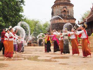 thailand Songkran tradition