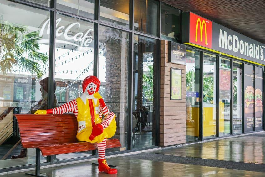 McDonald's restaurant and cafe BANGKOK