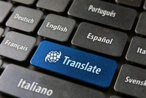 international keyboard with language keys