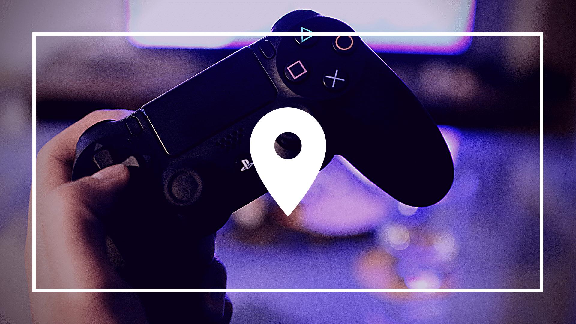 localization-icon-videogame-background