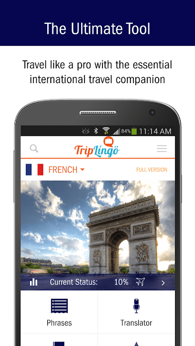 TripLingo App Feature