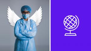 healthcare-around-the-globa-symbol