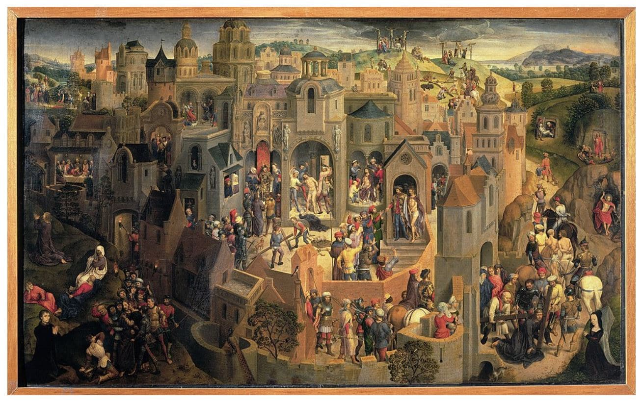 Hans_Memling_Passione - Scenes from the Passion of Christ