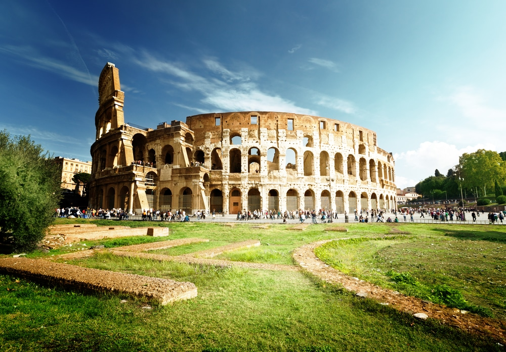 International Day for Monuments and Sites - Colosseum in Rome, Italy