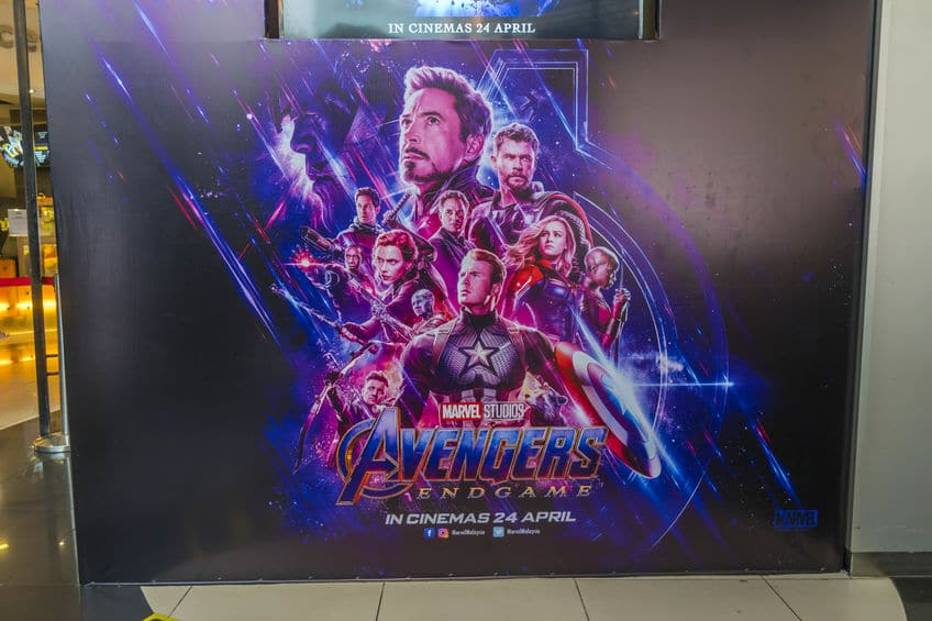 The Avengers Endgame movie poster