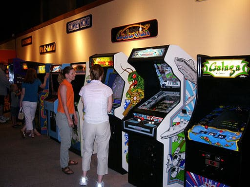 old video arcade games