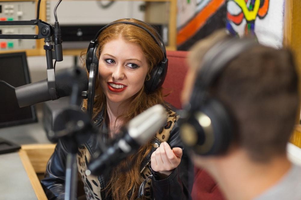 Media Interpreter on air