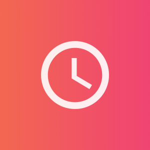 time-icon-pink-background