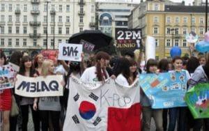Kpop fans in poland