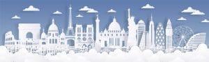 many international cities