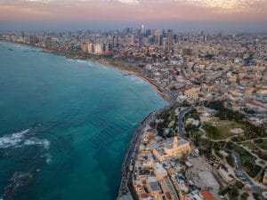 tel-aviv-beach-sunset