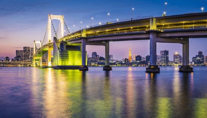 city-of-tokyo-bridge-sunset