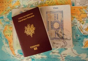 two-passports-in-map
