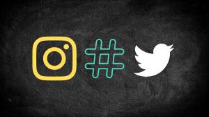 social-media-icons-chalkboard-background